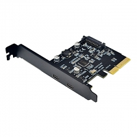 2-Port Type-C PCI-E Expansion Card