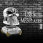 USB Skull MP3 Player III