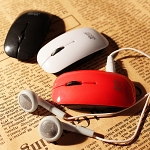 USB Mini Mouse MP3 Player
