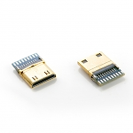 Mini HDMI Male C Type SMT+PCB Connector