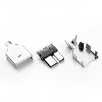 USB 3.0 micro B Male Shell (3pcs Standard)