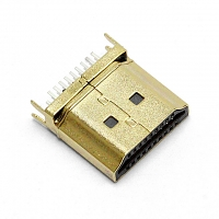 HDMI Male SMT DIP Connector