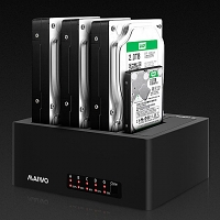 MAIWO K3084 USB 3.0 Quadruple SATA HDD Duplicator Dock
