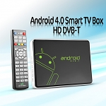Android 4.0 Smart TV Box HD DVB-T