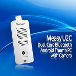 Measy U2C Dual-Core Bluetooth Android Thumb PC with Camera