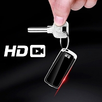 HD Spy Car Keychain Camera