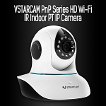 VSTARCAM PnP Series HD Wi-Fi IR Indoor PT IP Camera