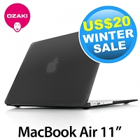 Ozaki O! Macworm TightSuit 0.9mm Case for MacBook Air 11