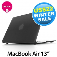 Ozaki O! Macworm TightSuit 0.9mm Case for MacBook Air 13