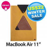 Ozaki O! Macworm Tri-Angle Pouch for MacBook Air 11