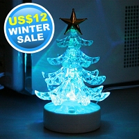 USB LED Music X'mas Tree