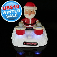 USB Drumming Santa Claus