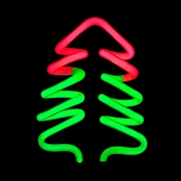 USB Christmas Tree Neon Light