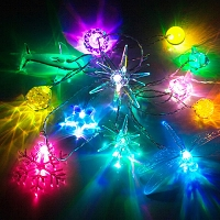 USB X'mas Decor Light (12 LED Lights)
