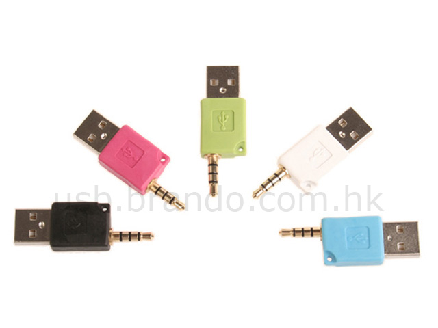 3.5mm to USB Adaptor (For iPod Shuffle 2G)