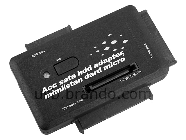 Usb To Sata Combo Adapter With Otg