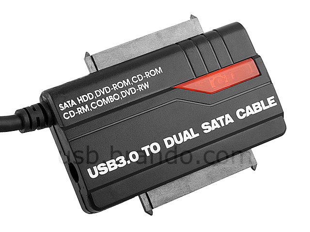 USB 3.0 to Dual SATA Cable