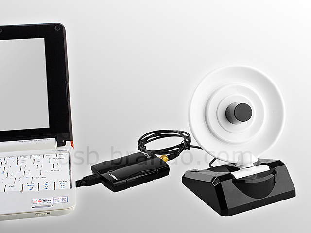 Wireless 8dBi USB Adapter with Directional Dish Antenna