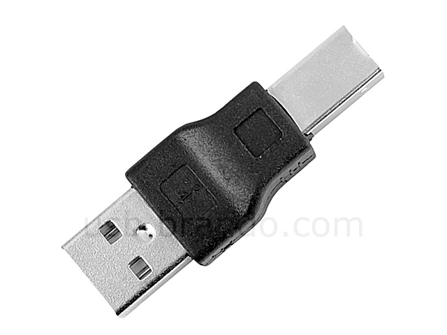 USB 2.0 A Male to USB 2.0 B Male Adapter