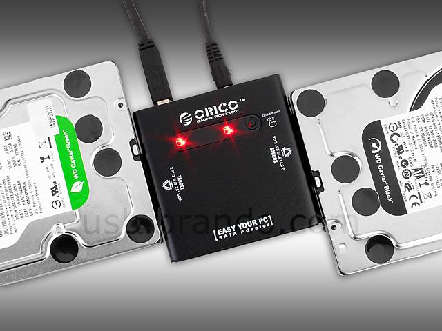 Usb 3 0 Dual Sata Hdd Clone Adapter Usb 3 0 Esata