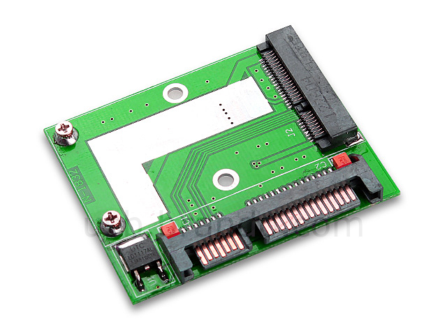50mm mini PCI-E mSATA SSD to SATA 22-Pin Adapter