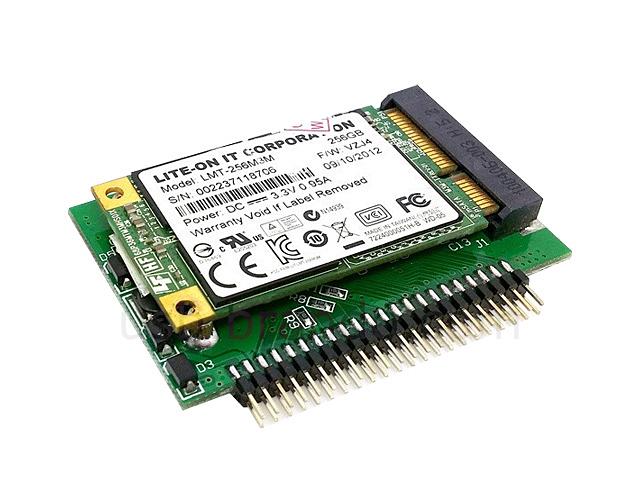 Msata Mini Pci E Sata Ssd To 2 5 Quot Ide 44 Pin Adapter