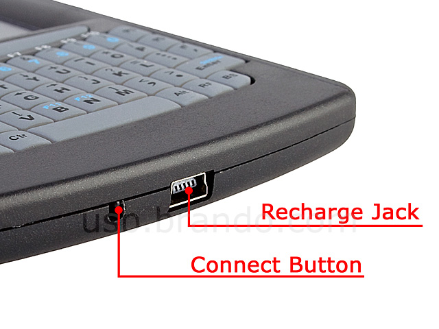 Mini Bluetooth Handheld Keyboard with Touchpad