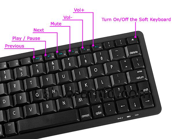 Slim Bluetooth Multimedia Keyboard  010