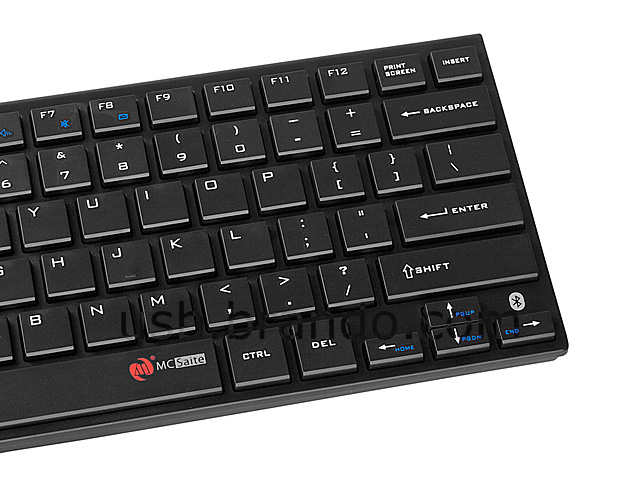 Bluetooth Multimedia Keyboard with Silicone Cover