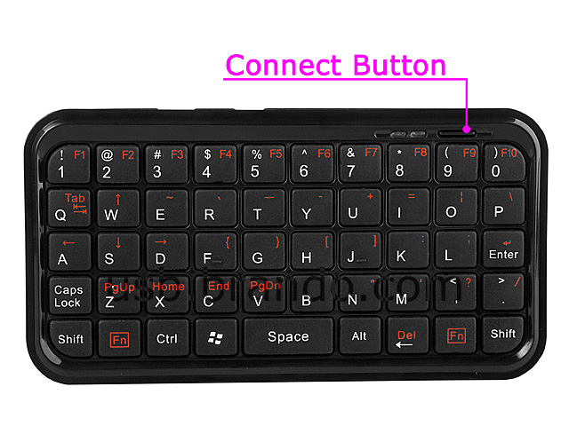 Mini Palm-Size Bluetooth Keyboard II