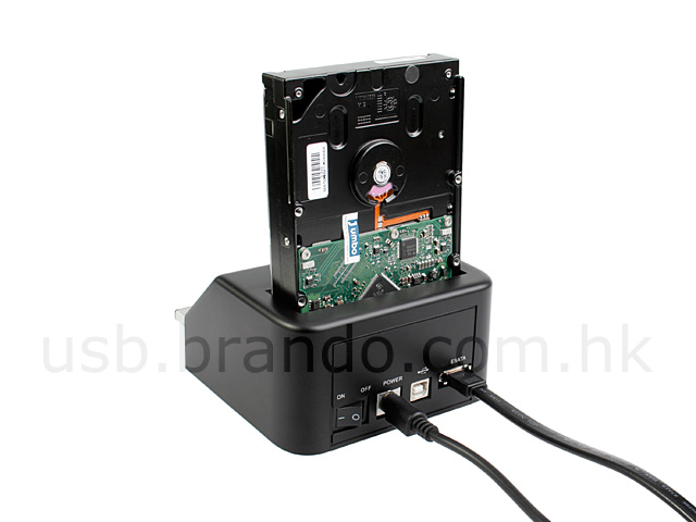 SATA HDD Multi-Function Dock (USB + ESATA)