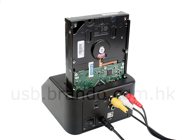 SATA HDD Multimedia Dock