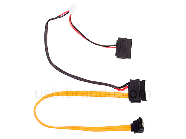 Slimline Sata With 4 Pin Mini Plug Sata Power 2 In 1 Cable