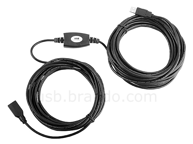 USB 2.0 Extension Cable (15 Meters)