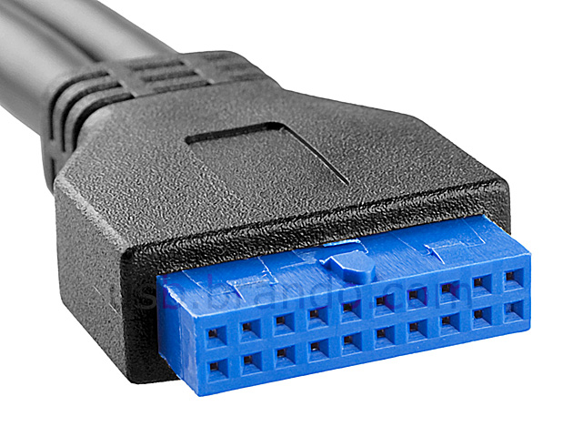 Usb 3 0 20 Pin Header To Usb 3 0 Type A Short Cable