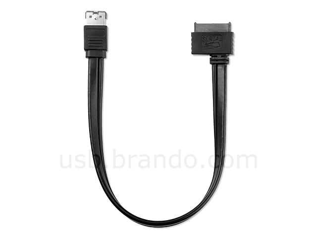 Power Over eSATA to SATA 13-pin Cable