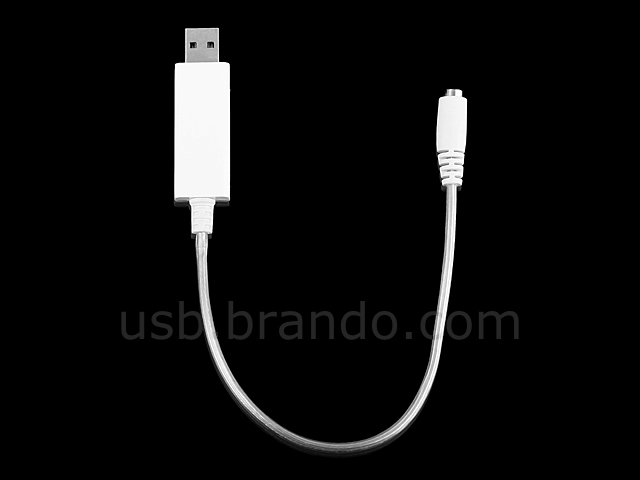 USB Visible Light Multi-Charge Short Cable