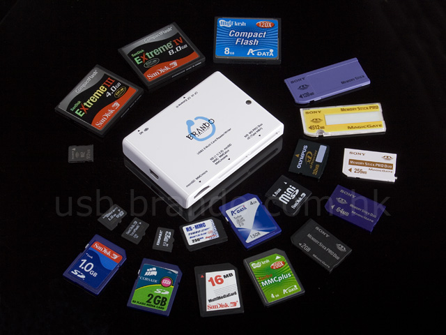 Brando WorkShop 55 in 1 Card Reader