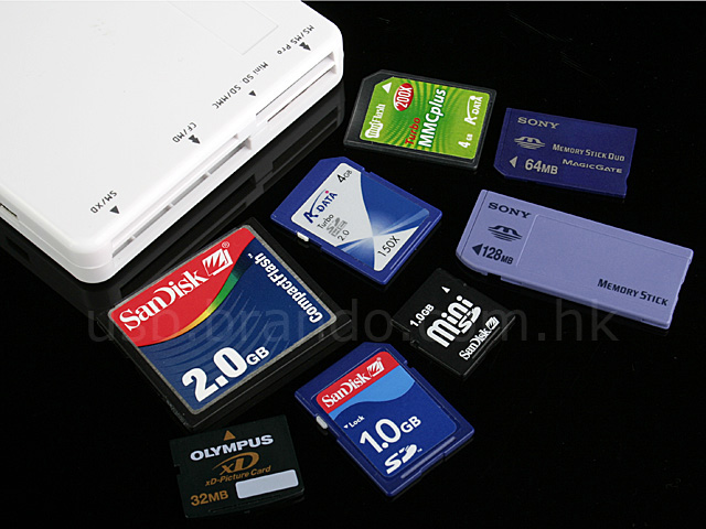 55 in 1 Bluetooth Card Reader + Hub