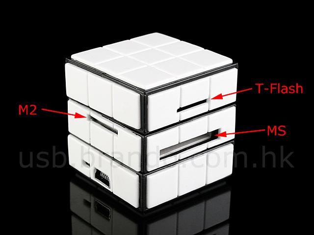 USB 270° x 270° Cubic Card Reader