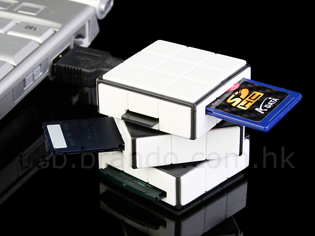 USB 270° x 270° Cubic Card Reader