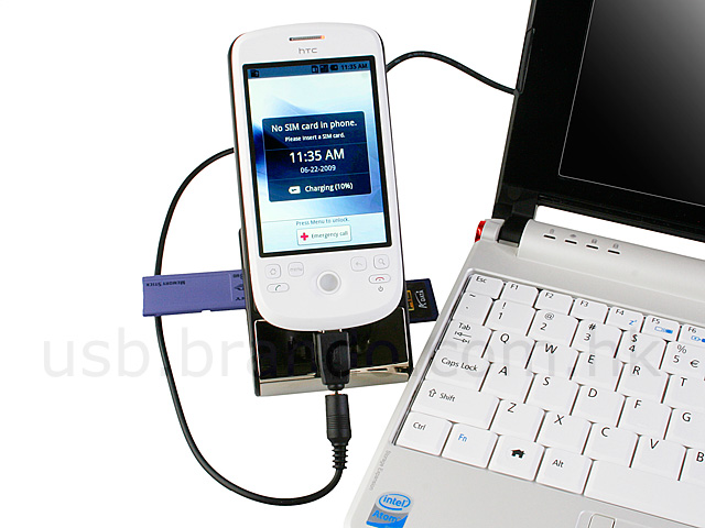 Non-slip Holder With Card Reader + Charger