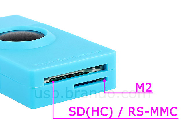 USB Mini Camera Card Reader
