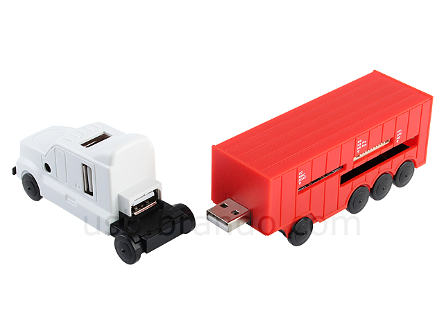 USB Lorry Card Reader Combo