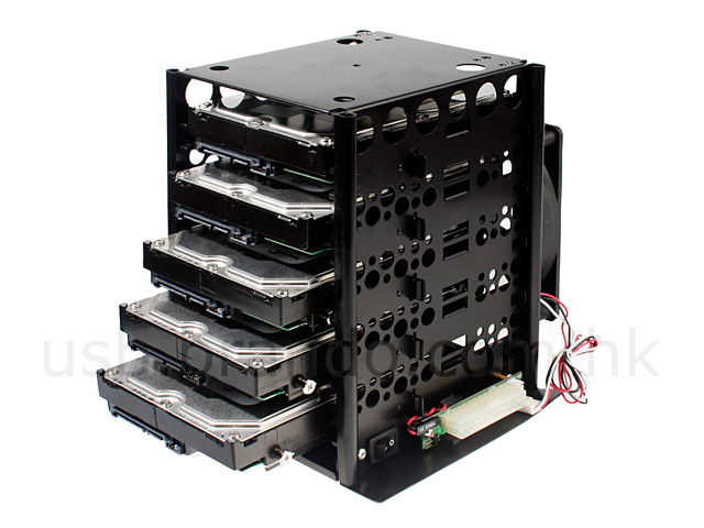 Hdd storage tower 5 bay for Storage bay