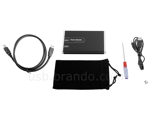 "USB 3.0 2.5"" SATA HDD Enclosure"