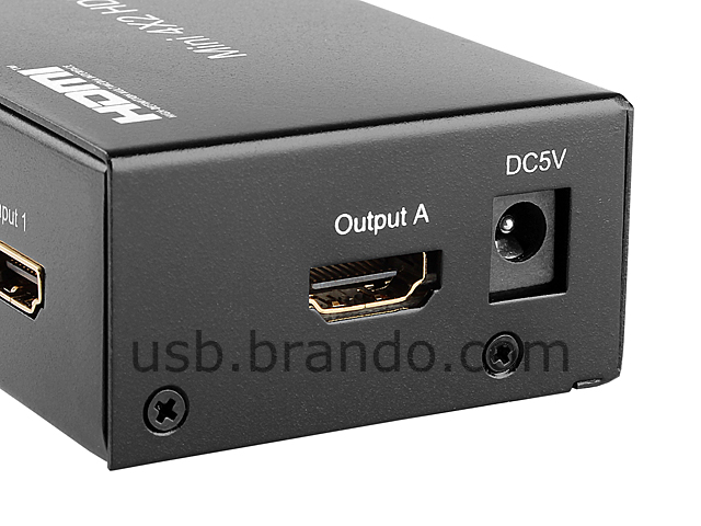 hdmi manual switch 1 in 2 out