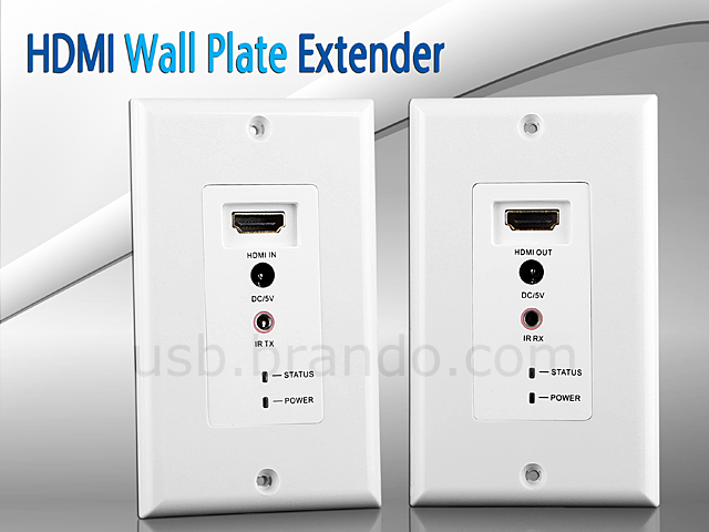hdmi wall plate extender 50 meter