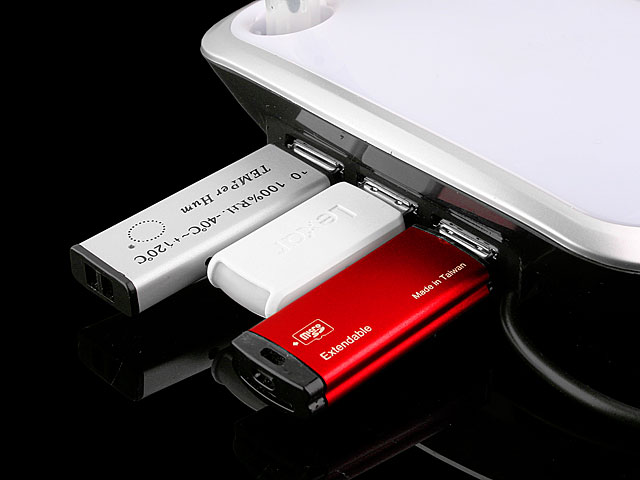 USB Moody 3-Port Hub with Erasable Memo Pad