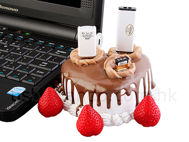 USB Strawberry Cake 3-Port Hub